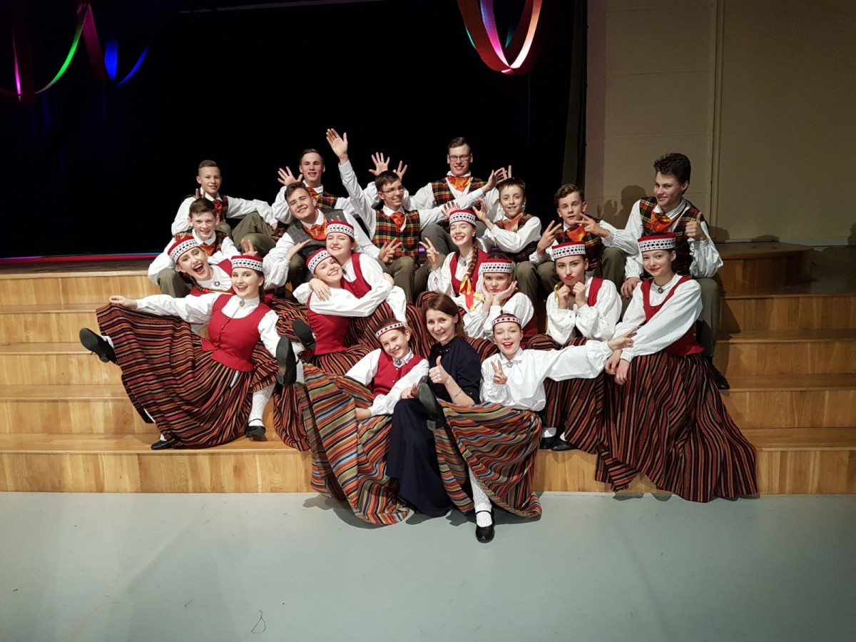 LATVIA - Riga - Folk Dance Groups Pienupite and Dzismeite
